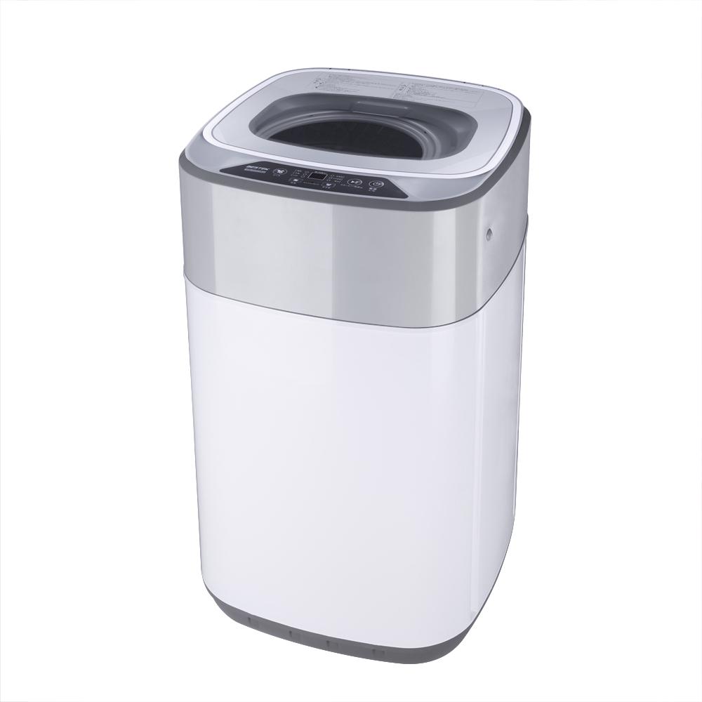 BESTEK 全自動洗濯機 3.8kg 一人暮らし 小型 抗菌パルセーター 家庭用 BTWA01
